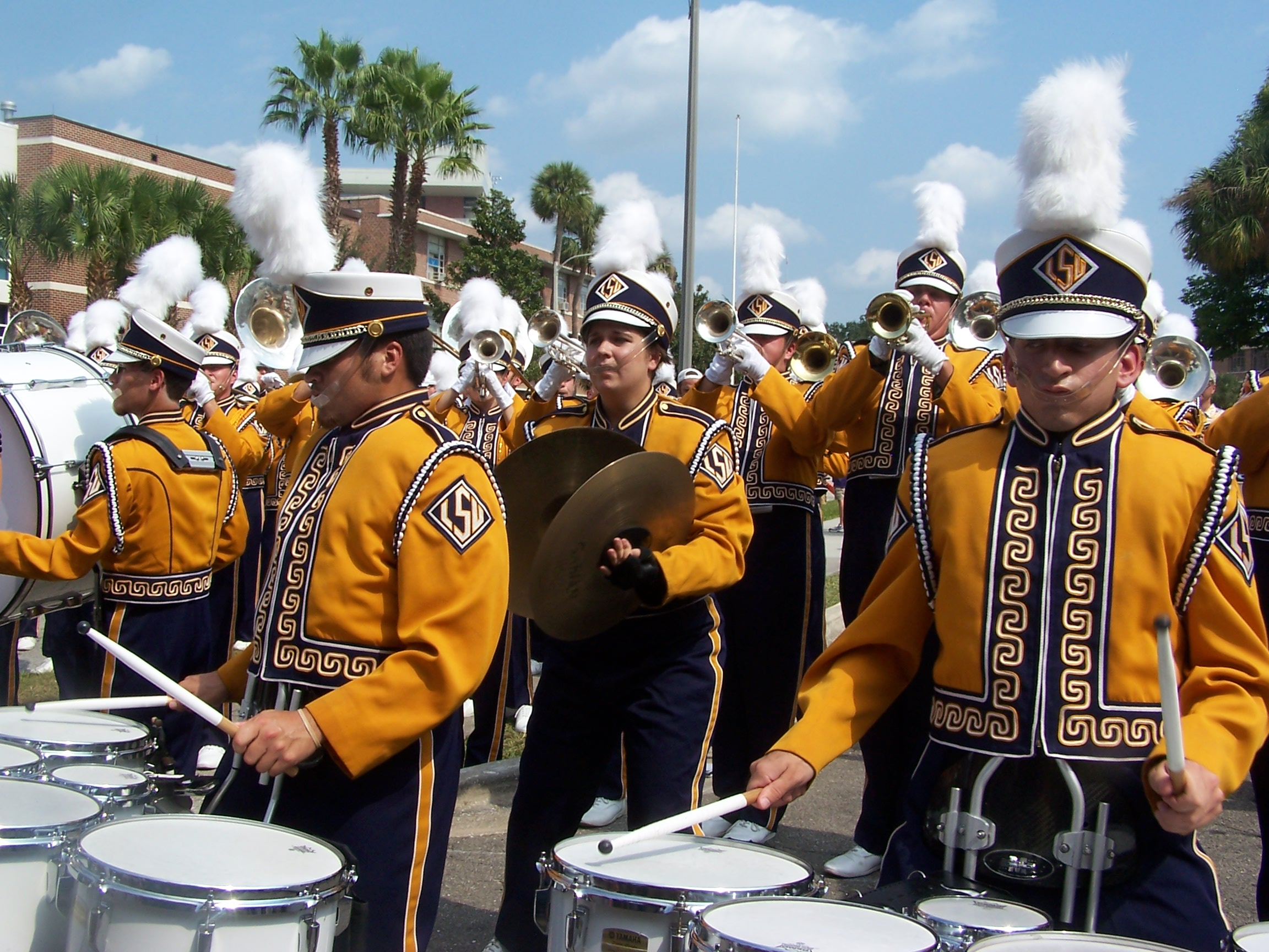 Mike the Tiger and the Golden Band from TigerLand