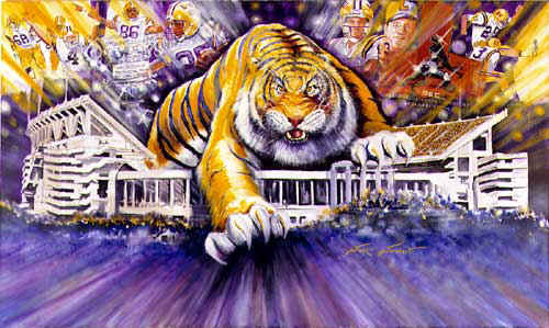 LSU Tiger on The Prowl Stadium